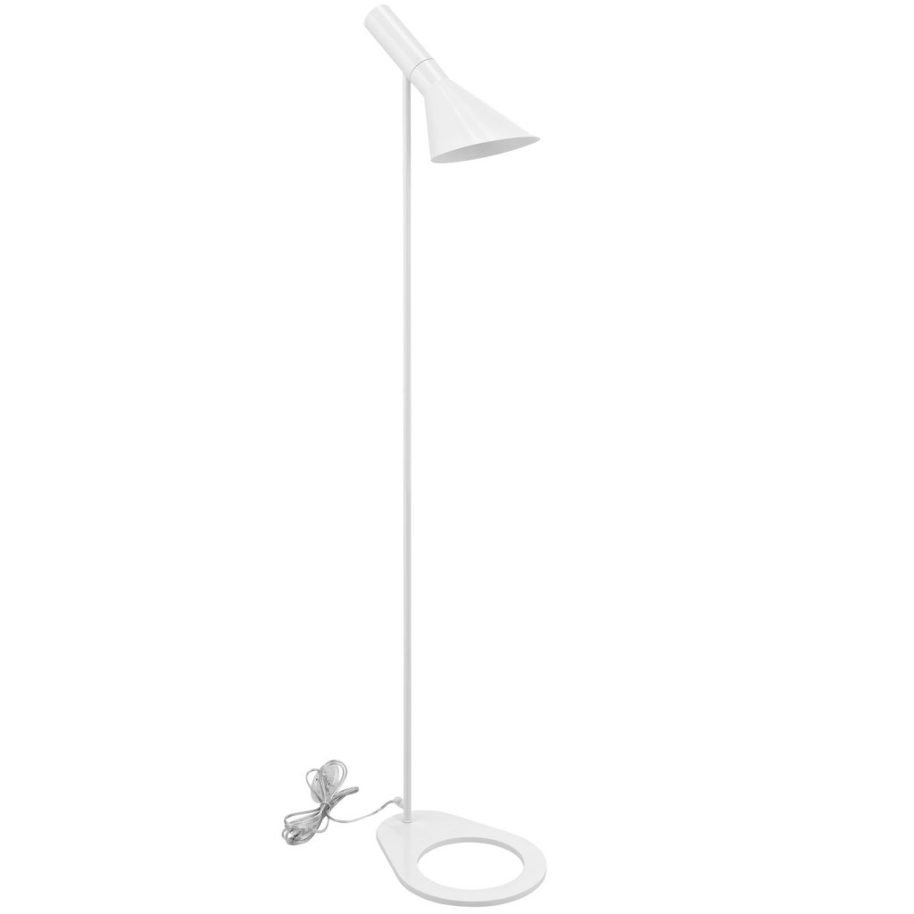 White Dial Floor Lamp