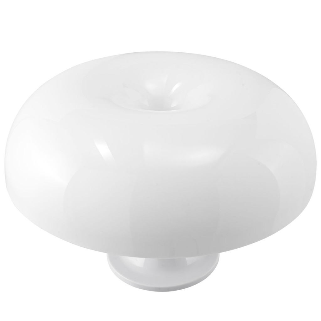 White Dome Table Lamp 2