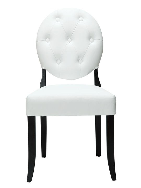 White Heirloom Dining Chair1