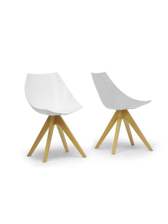 White Helio Chair 1