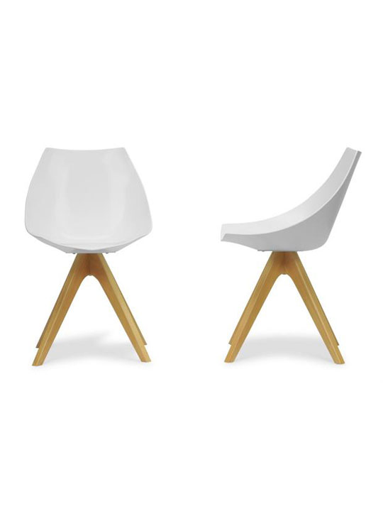 White Helio Chair 2