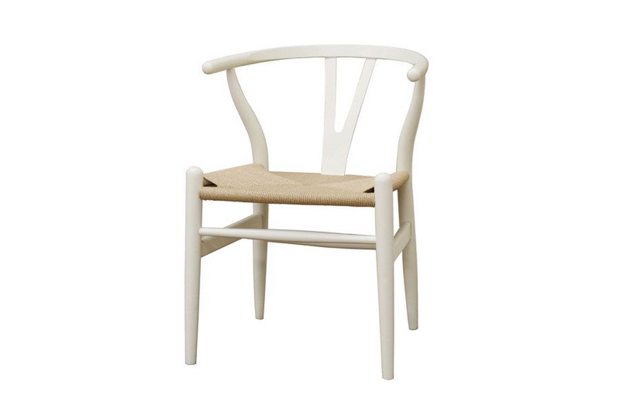 White Hemp Chair 1