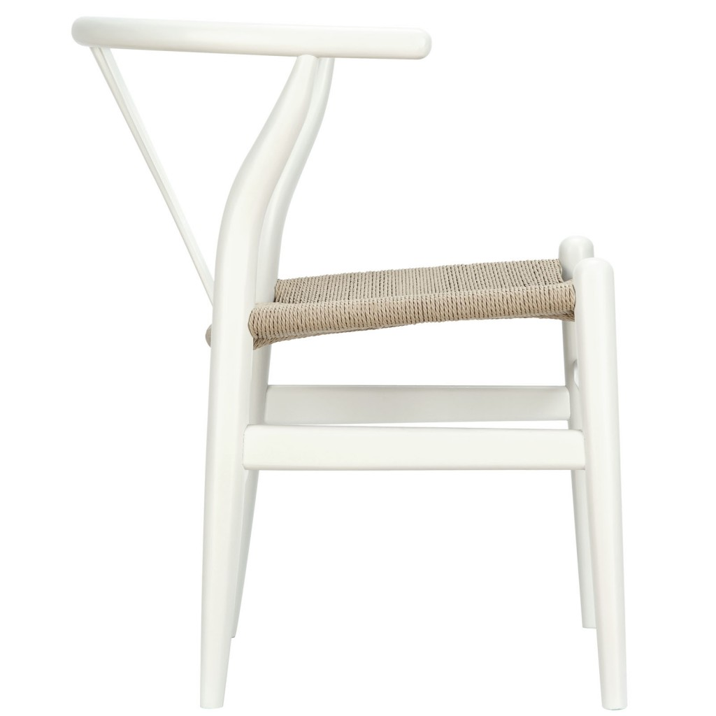 White Hemp Chair 5