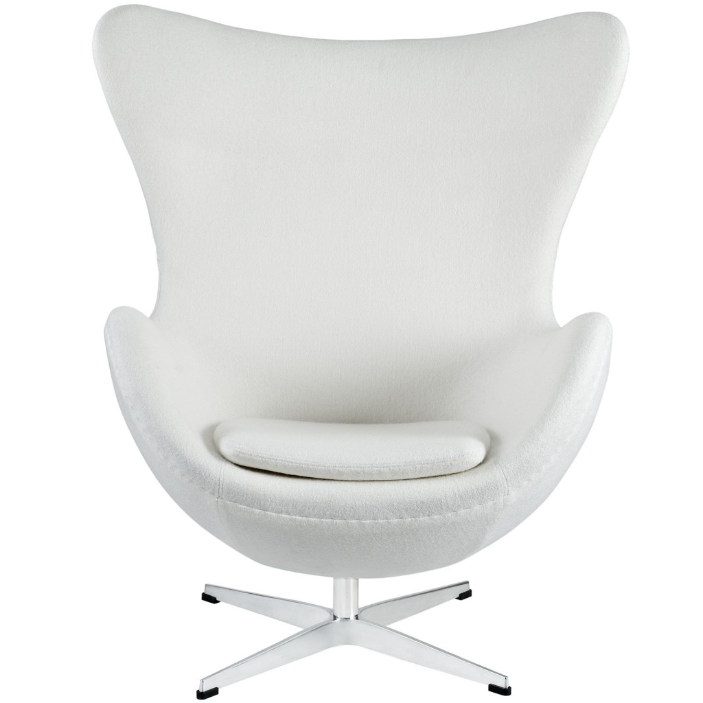 White Magnum Wool Chair 2
