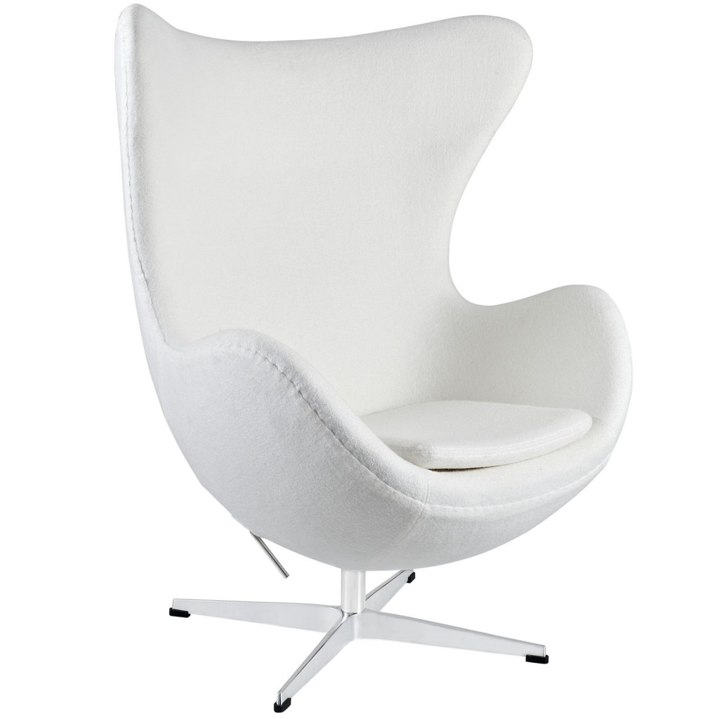 White Magnum Wool Chair