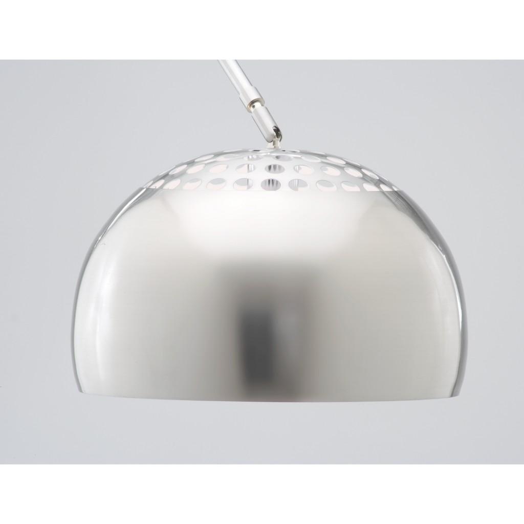 White Marble Modern Hunch Lamp 1