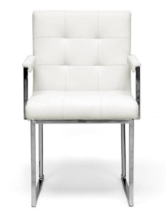 White Mellow Chair1