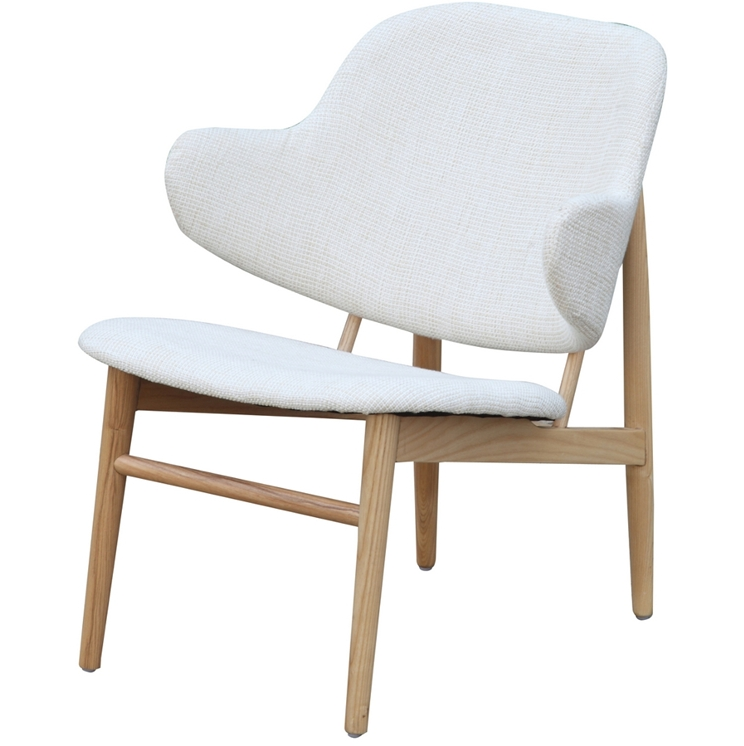 White Natural Wood Balman Chair 2