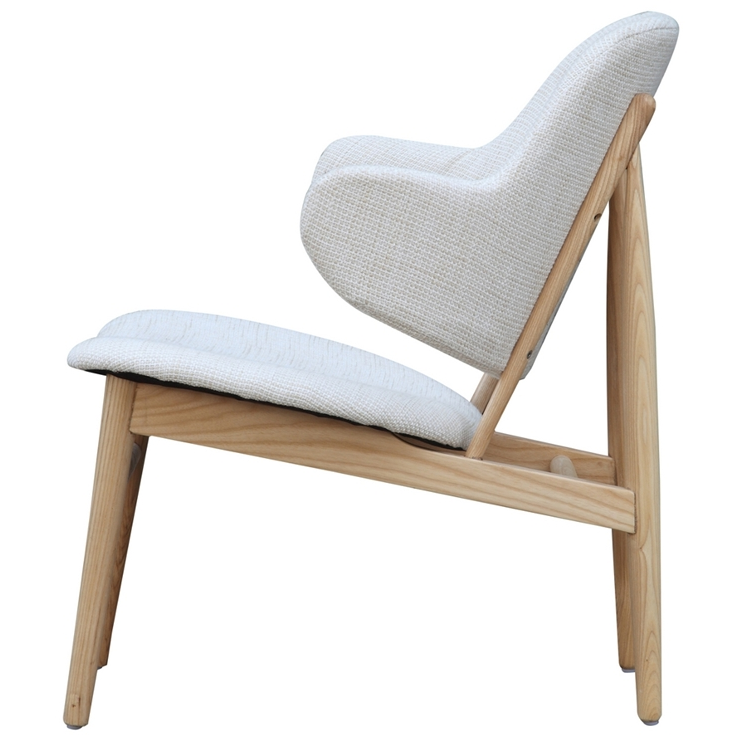 White Natural Wood Balman Chair 4