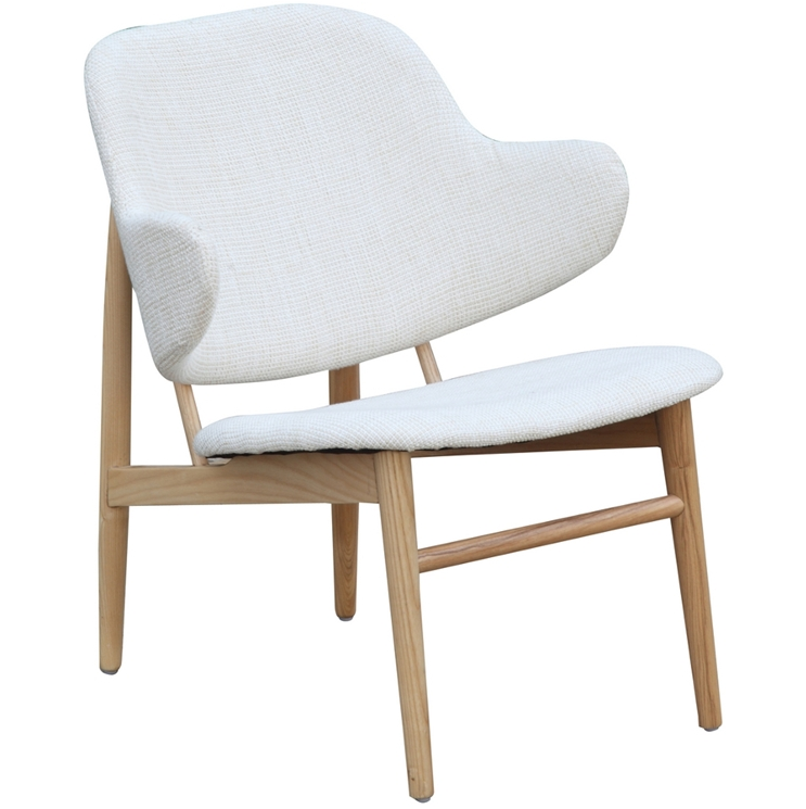 White Natural Wood Balman Chair