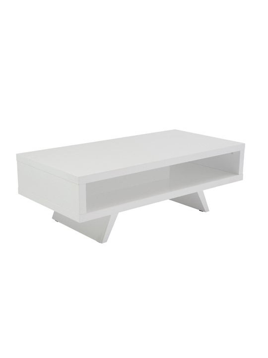 White Retromod Coffee Table 2