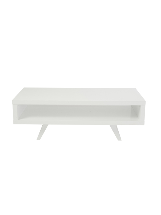 White Retromod Coffee Table