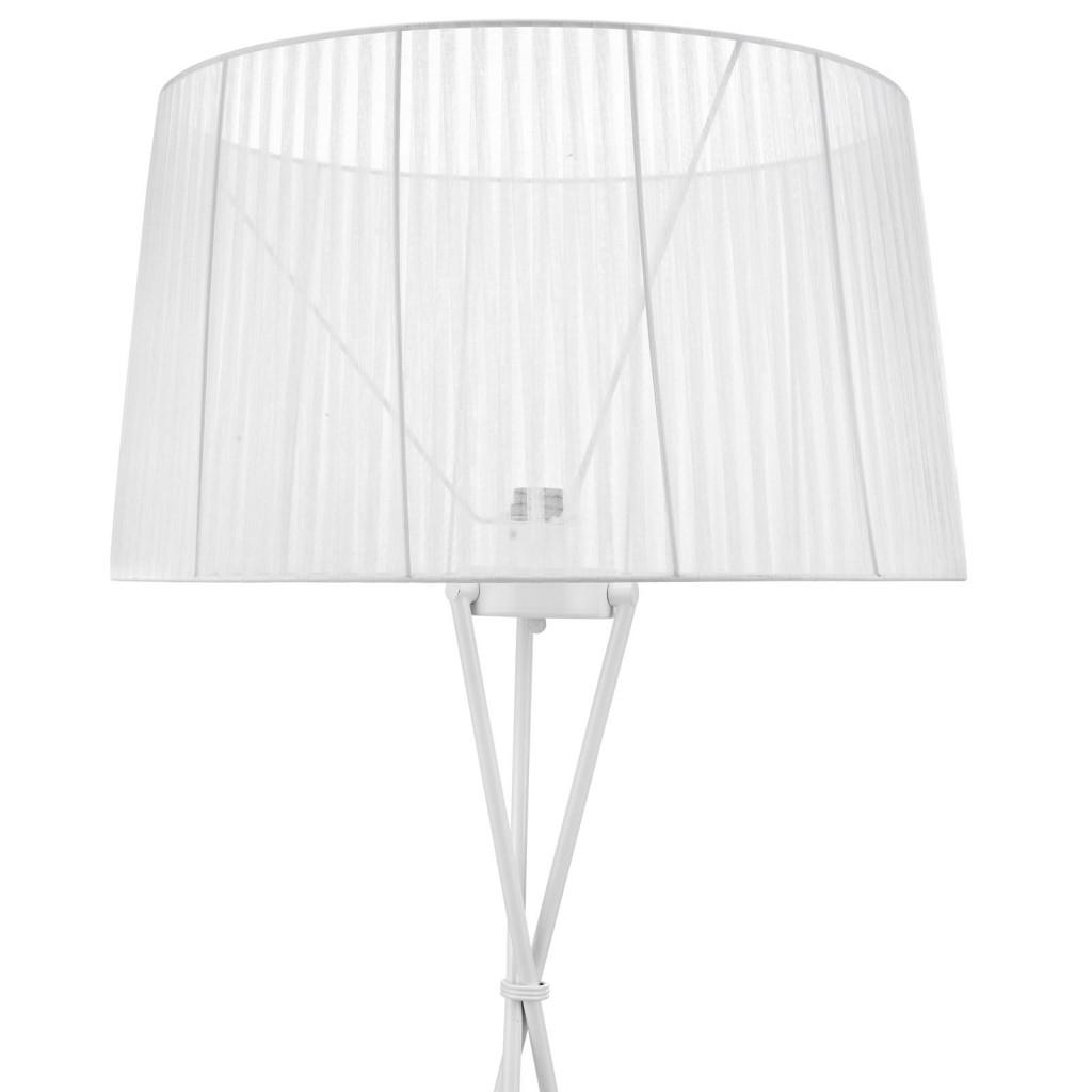White Silk Floor Lamp 2