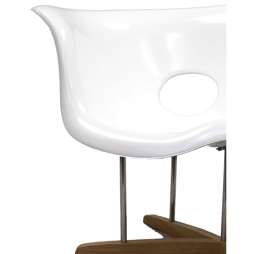 White Swan Chaise Chair 1
