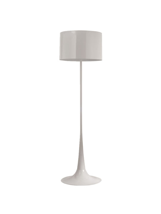 White Top Floor Lamp