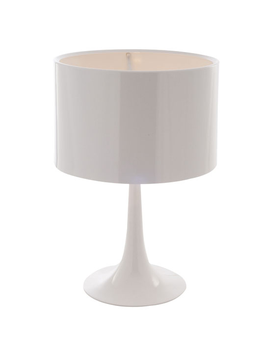 White Top Table Lamp 2
