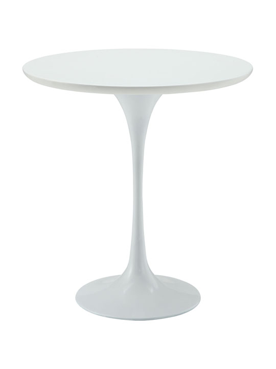 White Tulip Side Table