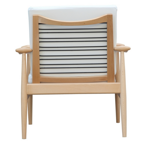 White Zealand Lounge Chair 2