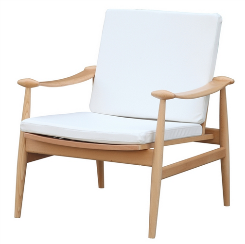 White Zealand Lounge Chair 3
