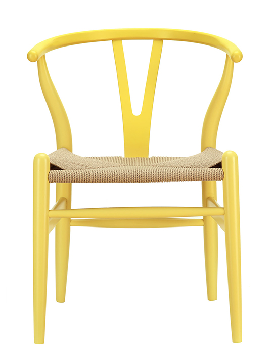 Yellow Hemp Chair