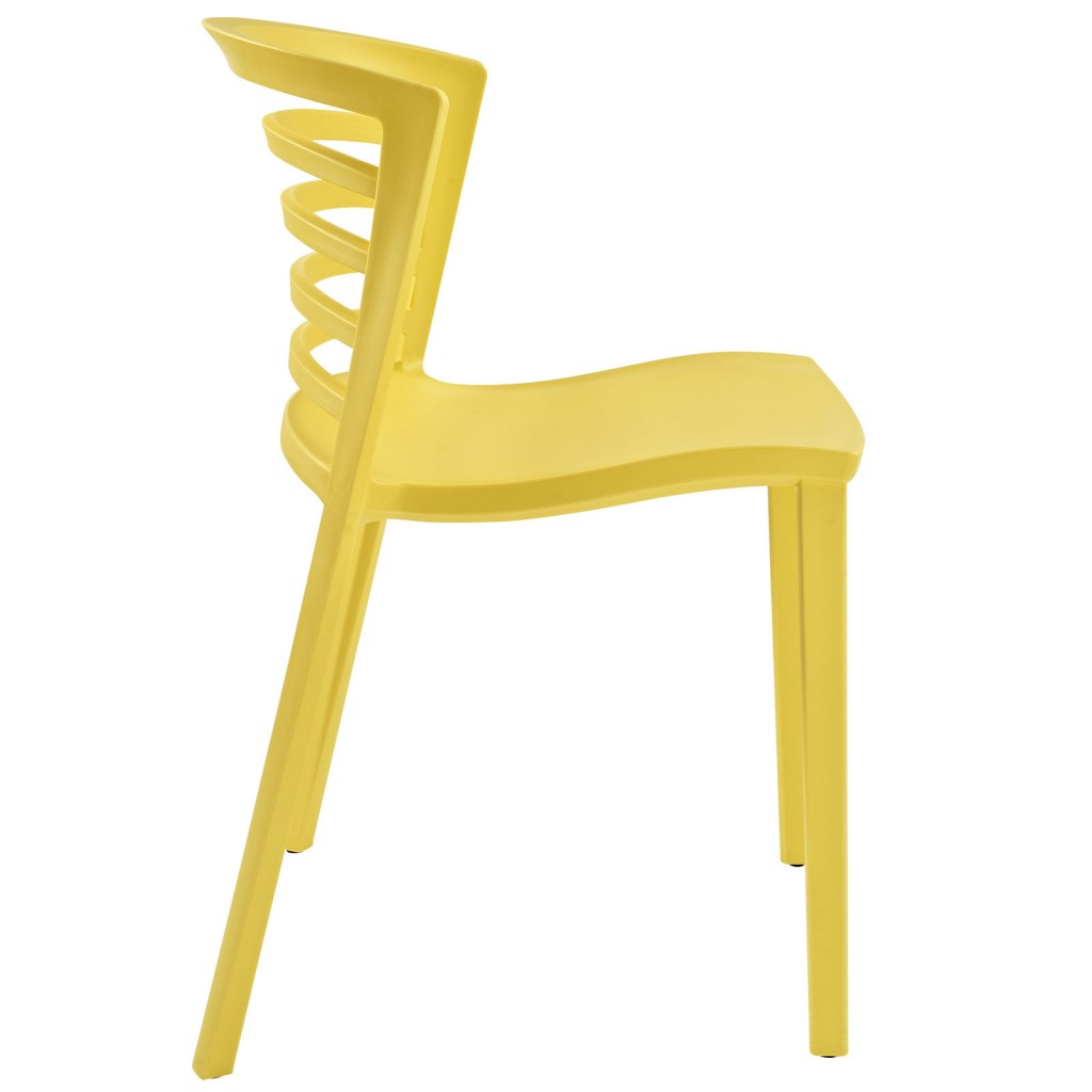 Yellow Skeleton Chair 2