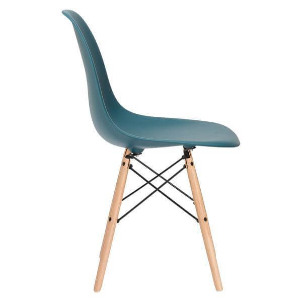 ceremony wood chair turquoise 3