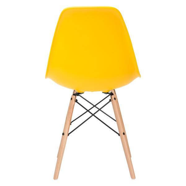 ceremony wood chair yellow 4