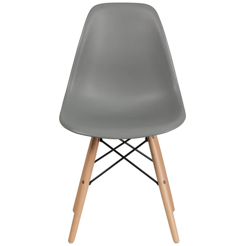 eames blue dining chair