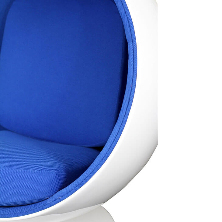 private space ball chair blue 3