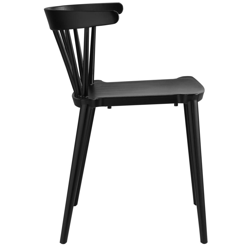 Black Doral Chair 2