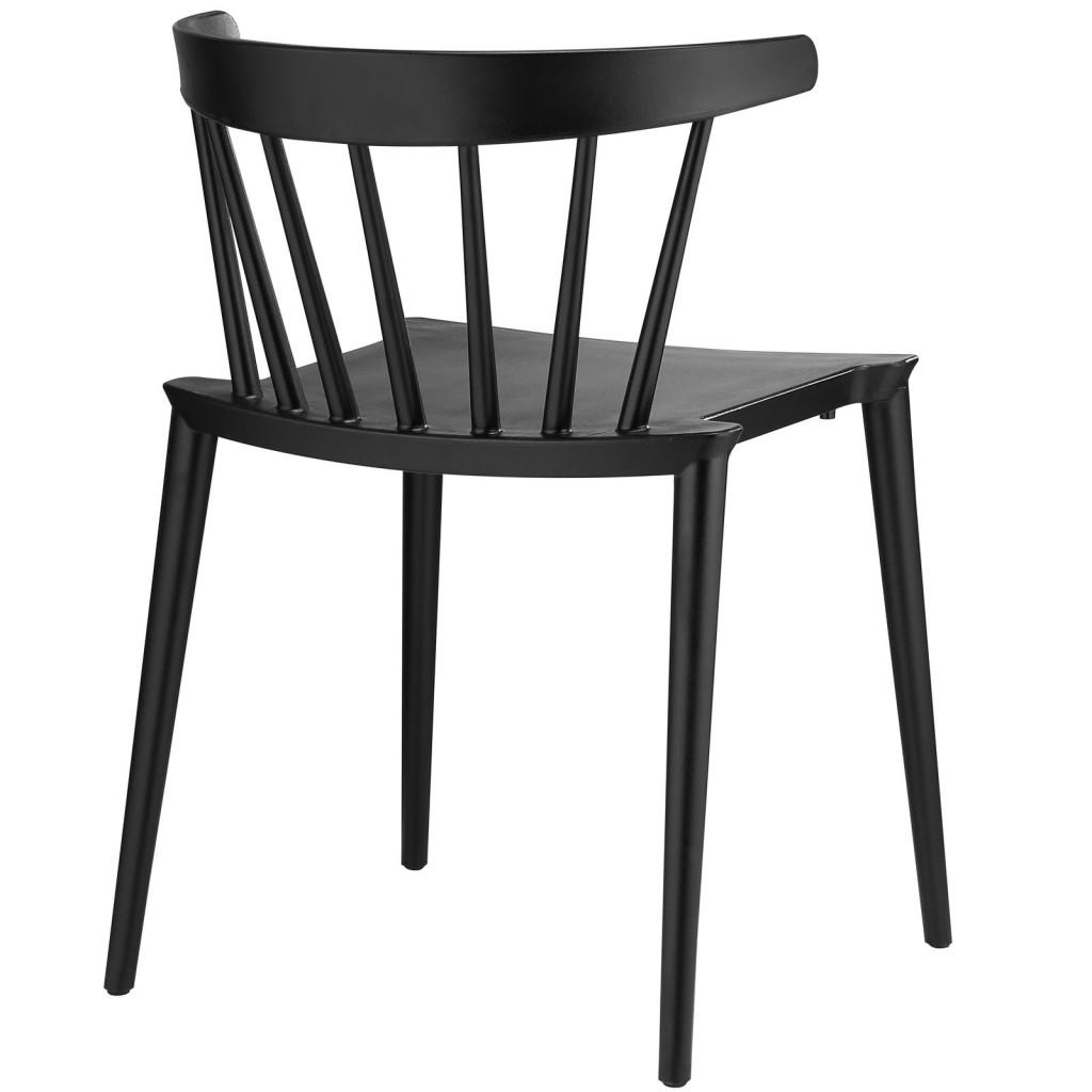 Black Doral Chair 3