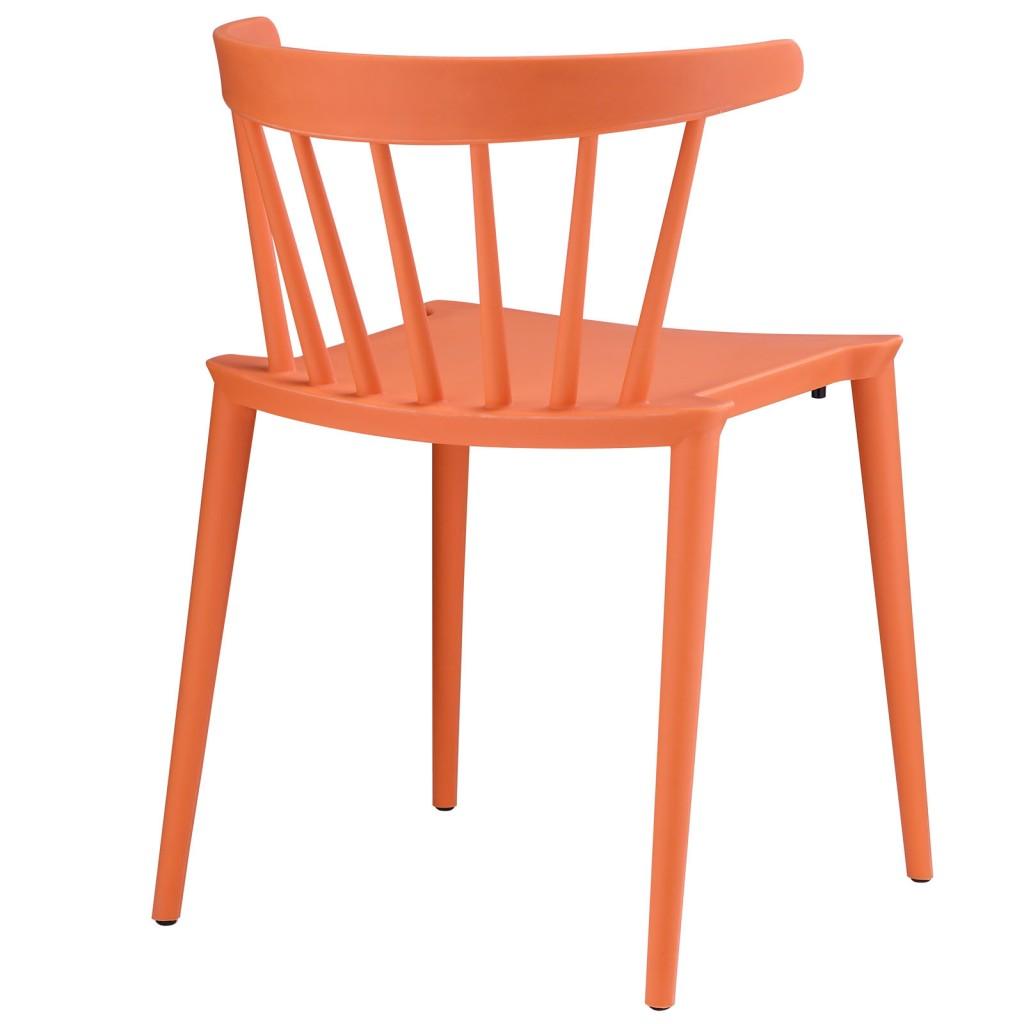 Orange Doral Chair 3