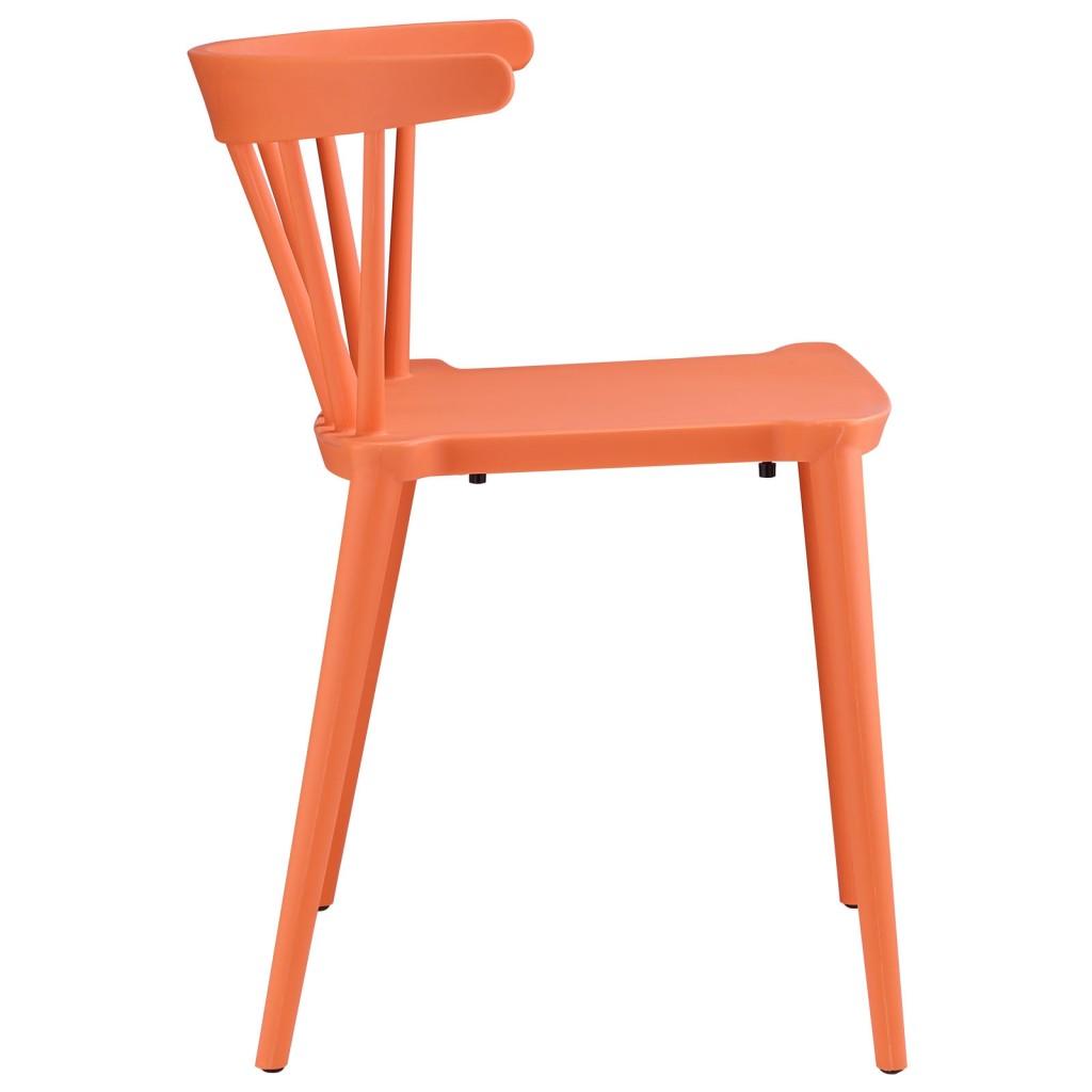 Orange Doral Chair2