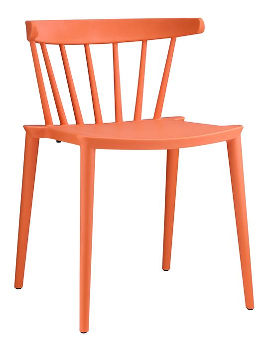 Orange Doral Chair3