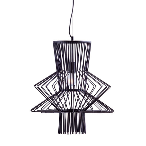 Spool Pendant Light