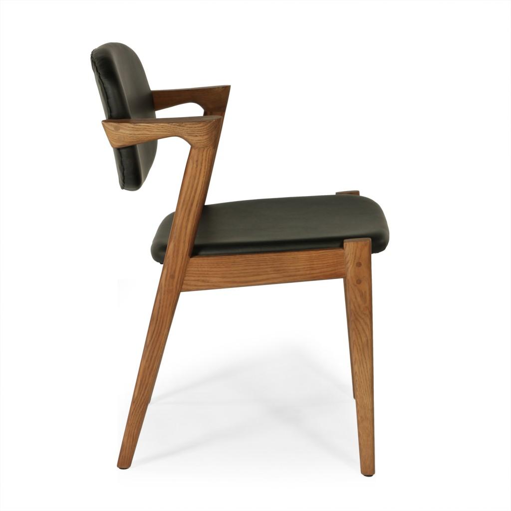 Black Leather Avalon Chair 5