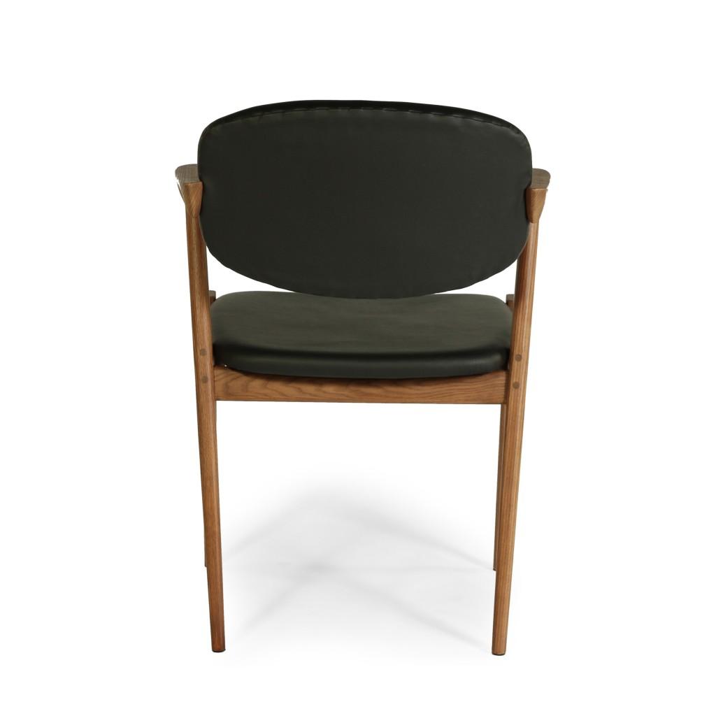 Black Leather Avalon Chair 6