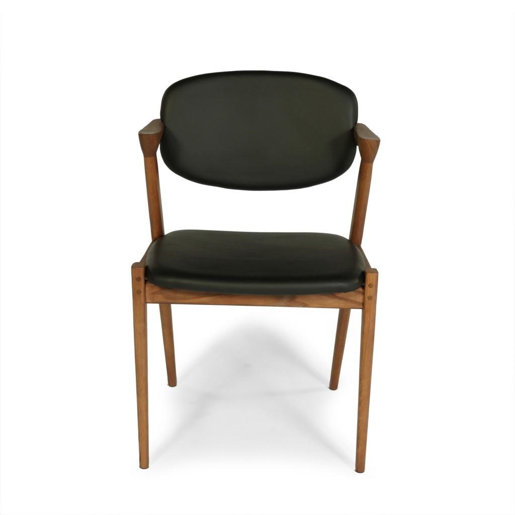 Black Leather Avalon Chair