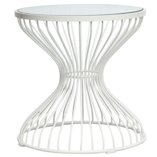 Caged Side Table
