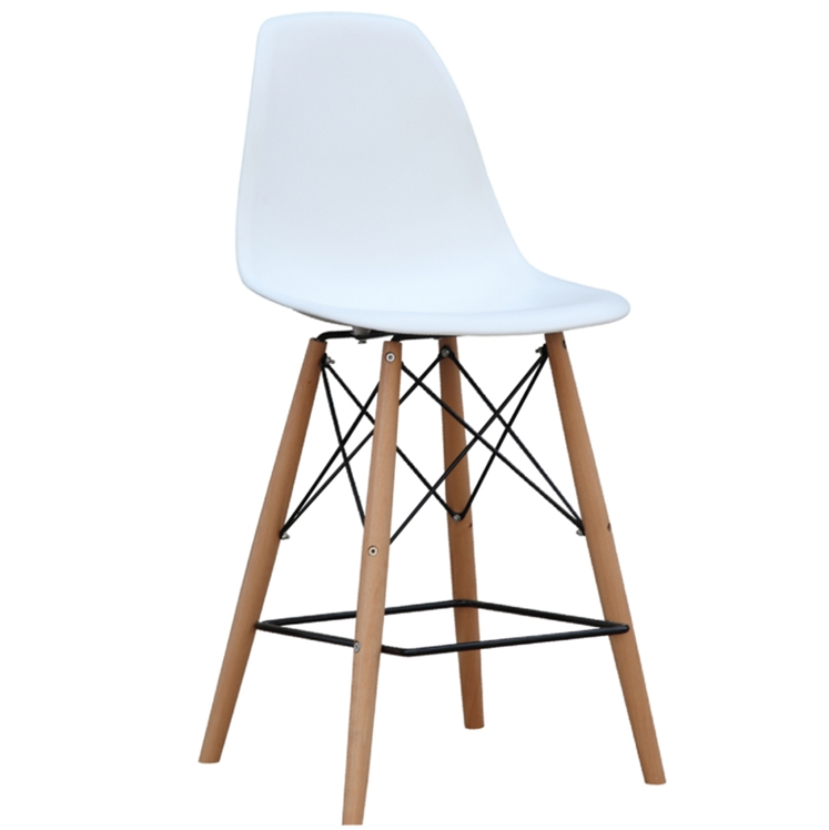 Ceremony Wood Counter Stool
