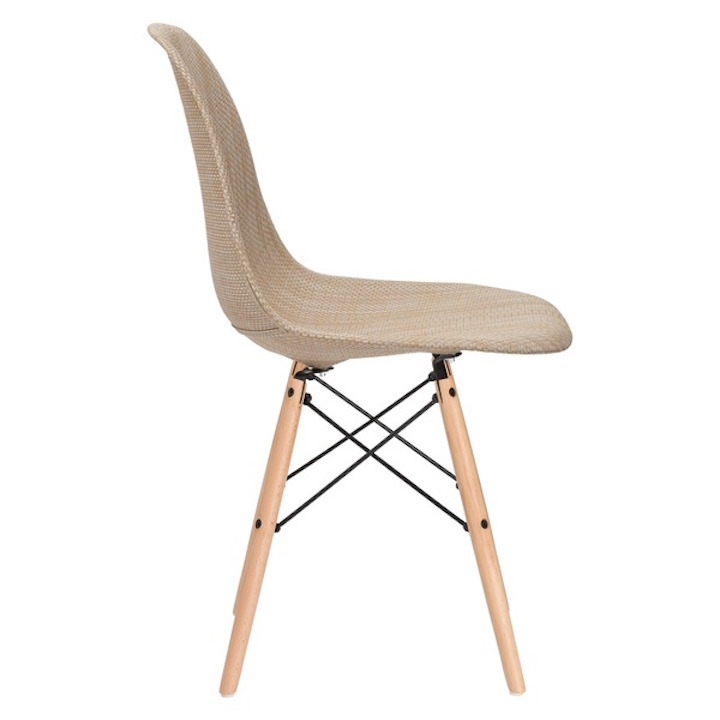 Ceremony Woven Chair Beige 2