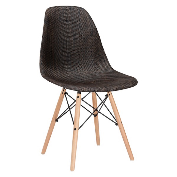 Ceremony Woven Chair Brown 1