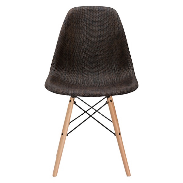 Ceremony Woven Chair Brown 2