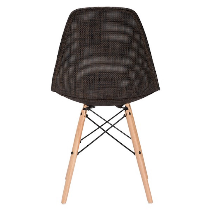 Ceremony Woven Chair Brown 4