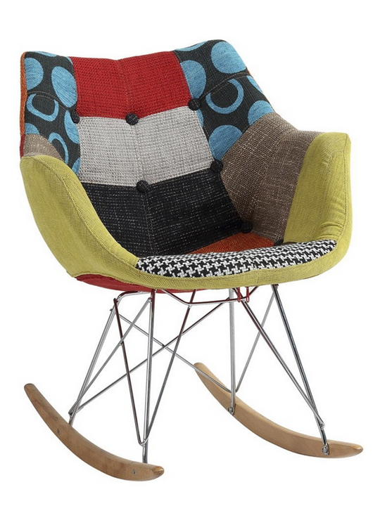 Quilted Winged Rocker