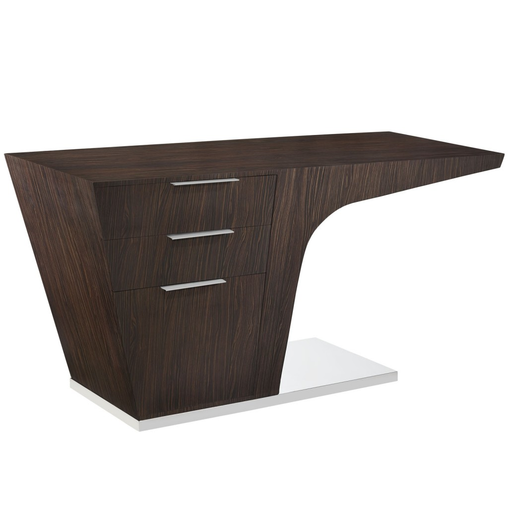 Walnut Streamline Desk