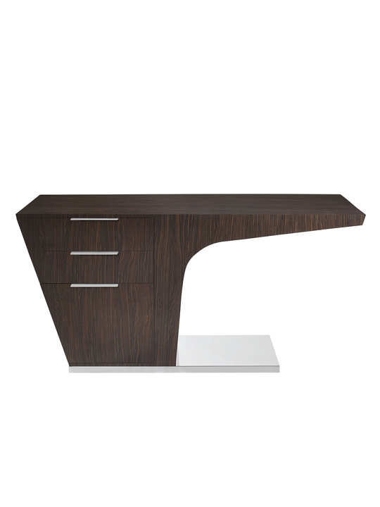 Walnut Streamline Desk2