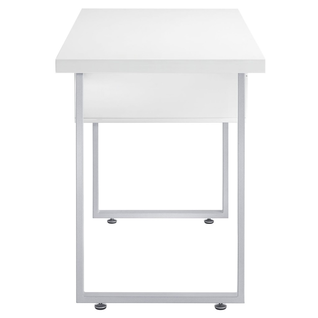 White Cubist Desk 3