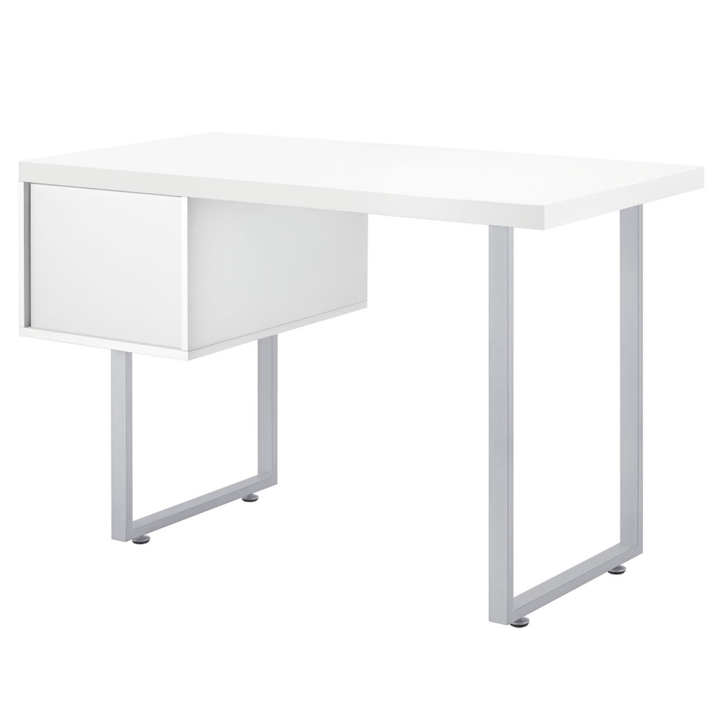 White Cubist Desk 4