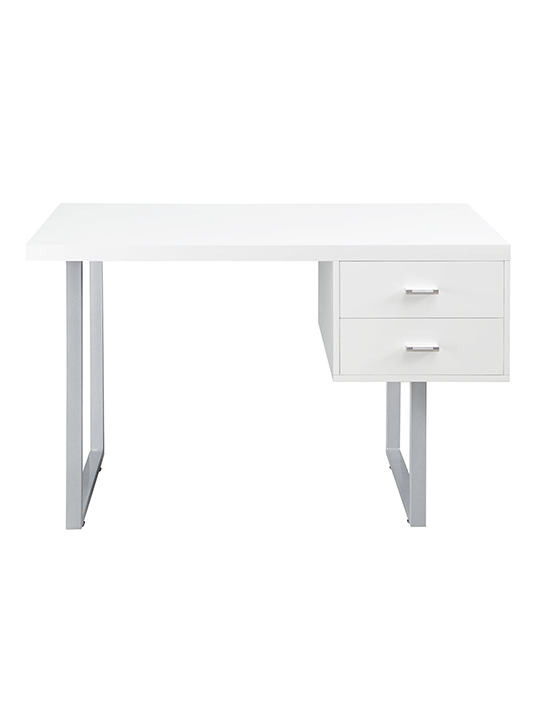 White Cubist Desk1